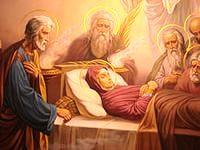 Из истории жизни и смерти Пресвятой Богородицы